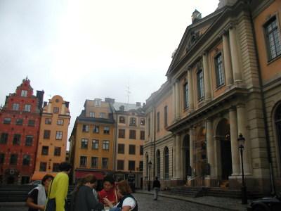 Stortorget y Museo Nobel